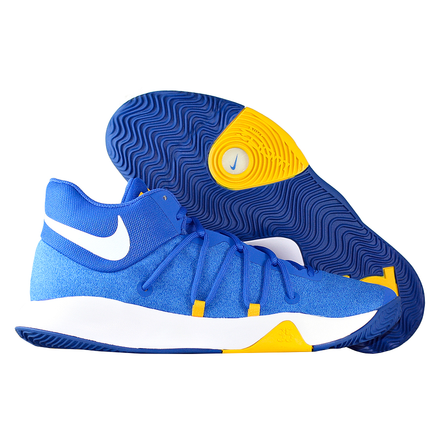 Кроссовки NikeКроссовки баскетбольные Nike KD Trey 5 V quot;Warriorsquot;<br><br>Цвет: Синий<br>Выберите размер US: 6,5|7|7,5|9,5|10|11|11,5|12|12,5|13|14|15