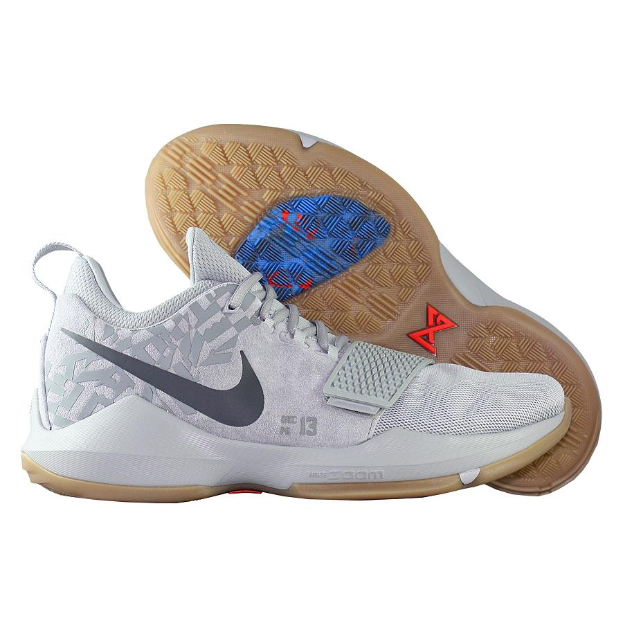 Купить Кроссовки Nike, Кроссовки баскетбольные Nike PG 1 Baseline OKC , Серый
