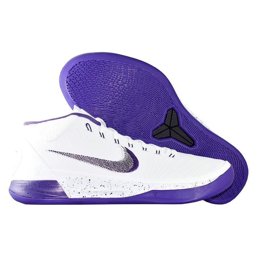 Кроссовки NikeКроссовки баскетбольные Nike Kobe A.D. Mid quot;Baselinequot;Баскетбольные кроссовки звезды НБА - Коби Брайанта, юбилейная десятая модель! Корпус выполнен из лёгких синтетических материалов, для амортизации использован баллон Zoom. Низкий профиль обеспечивает свободу игроку. Хороший выбор для занятий баскетболом!<br><br>Цвет: Белый<br>Выберите размер US: 9|9,5|10|11,5|12|12,5|13
