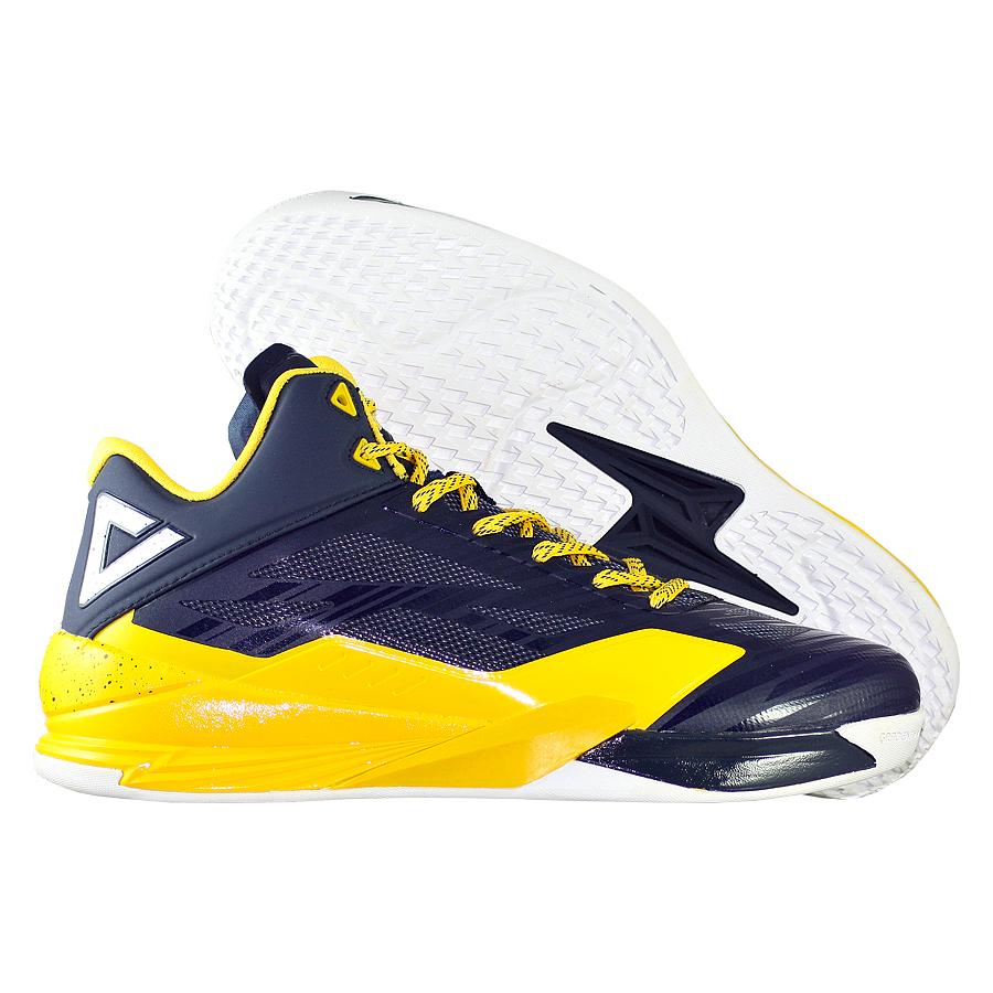 Кроссовки PEAKКроссовки баскетбольные PEAK Lightning IV<br><br>Цвет: Синий<br>Выберите размер US: 8|9,5|10