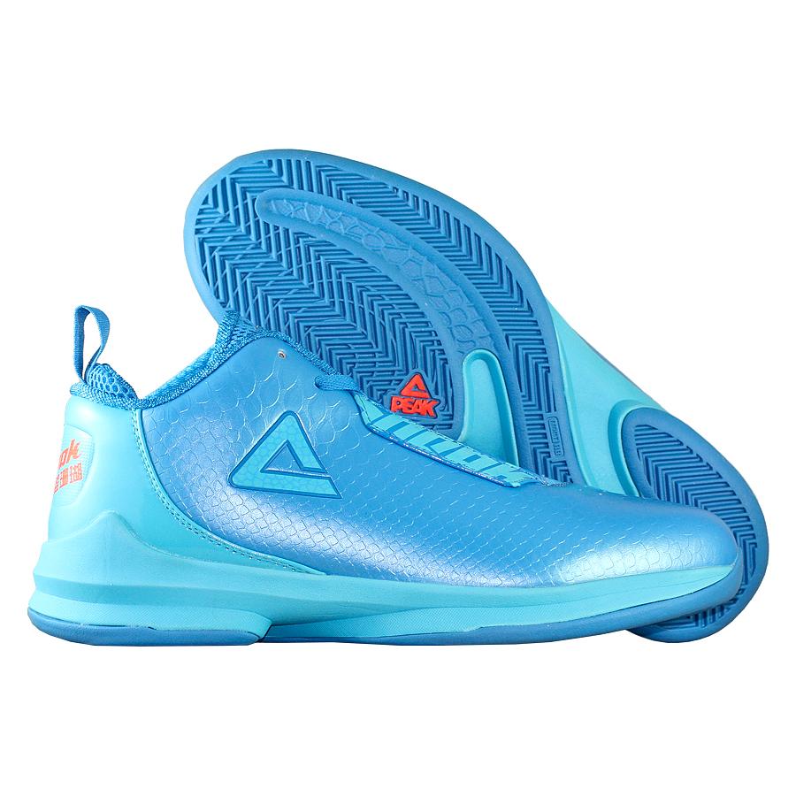 Кроссовки PEAKКроссовки баскетбольные PEAK Sneak<br><br>Цвет: Голубой<br>Выберите размер US: 9