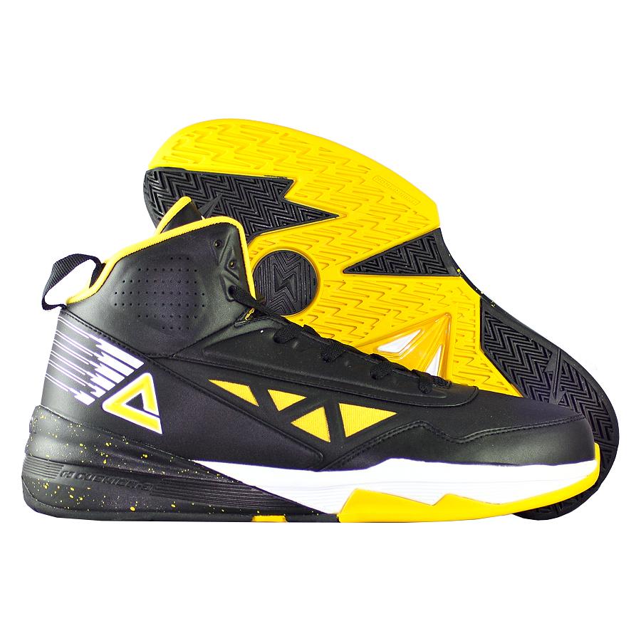 Кроссовки PEAKКроссовки баскетбольные PEAK Lightning<br><br>Цвет: Чёрный<br>Выберите размер US: 8|10|11
