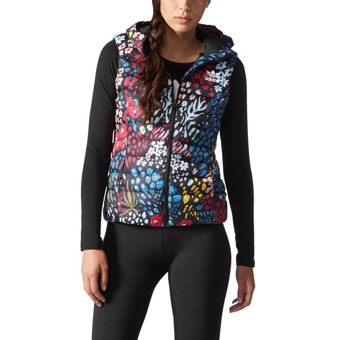 Другие товары adidasЖилет женский adidas Originals Slim Vest<br><br>Цвет: Мульти<br>Выберите размер US: XS