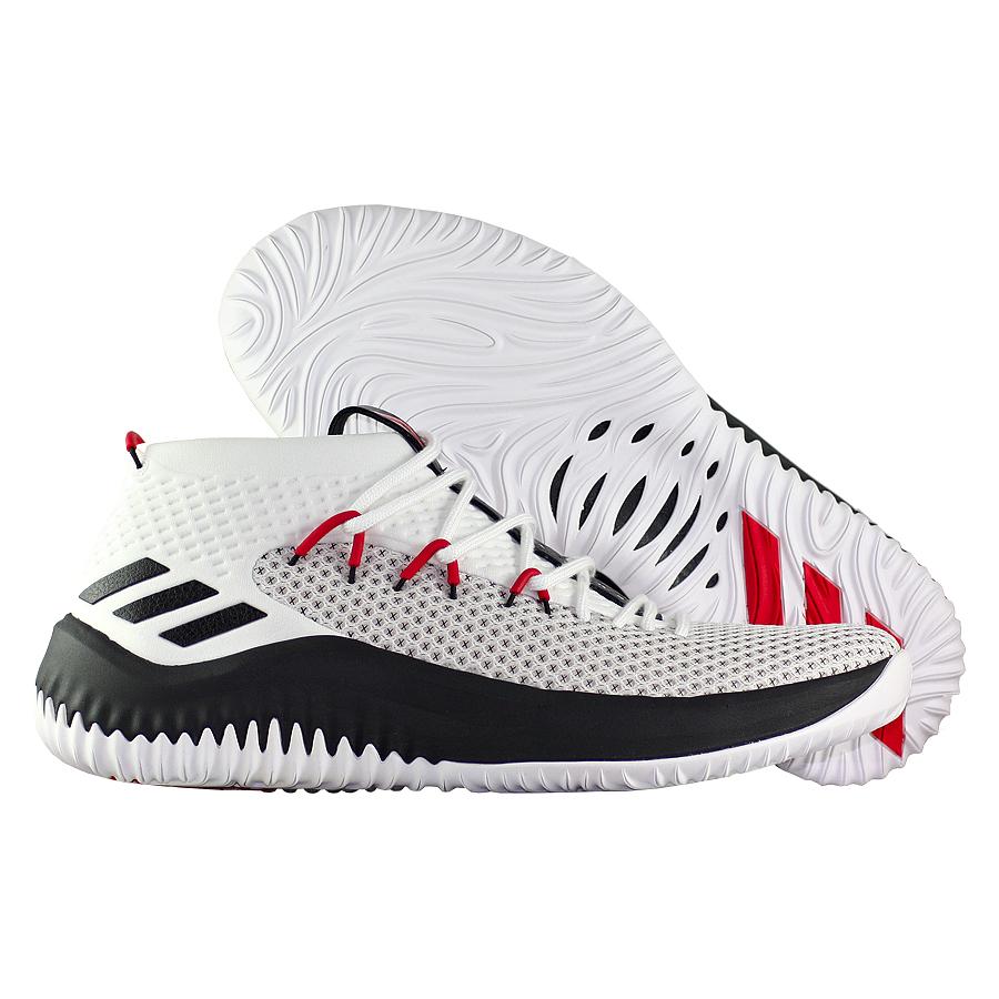 Другие товары adidasБаскетбольные кроссовки adidas Dame 4 quot;Rip Cityquot;Баскетбольные кроссовки adidas, созданные для Деррика Роуза.<br><br>Цвет: Белый<br>Выберите размер US: 8|10