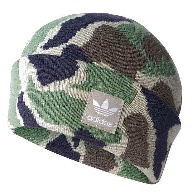 Другие товары adidasШапка adidas Camouflage Beanie<br><br>Цвет: Зелёный<br>Выберите размер US: XL