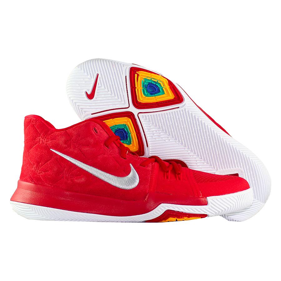 Другие товары NikeДетские баскетбольные кроссовки Nike Kyrie 3 GS quot;Red Suedequot;<br><br>Цвет: Красный<br>Выберите размер US: 4.5Y|5Y|5.5Y