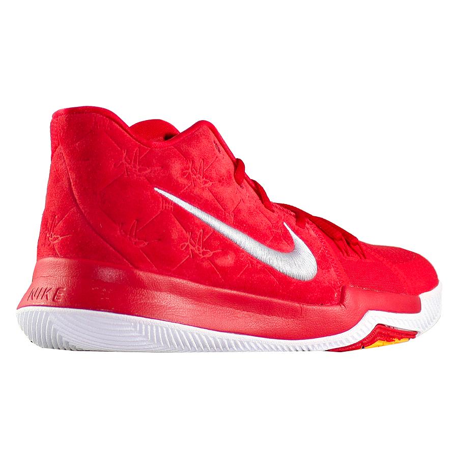 4292f4b6 ... Купить Детские баскетбольные кроссовки Nike Kyrie 3 GS Red Suede-3 ...