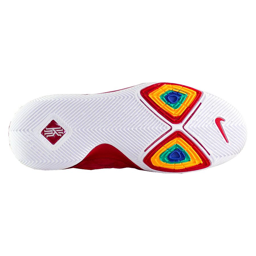 ea81ab3a ... Купить Детские баскетбольные кроссовки Nike Kyrie 3 GS Red Suede-5 ...
