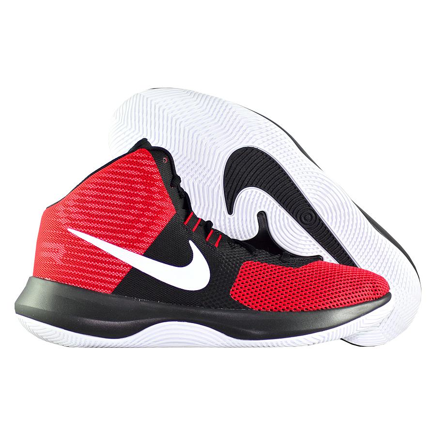 Кроссовки NikeКроссовки баскетбольные Nike Air Precision<br><br>Цвет: Красный<br>Выберите размер US: 10|12