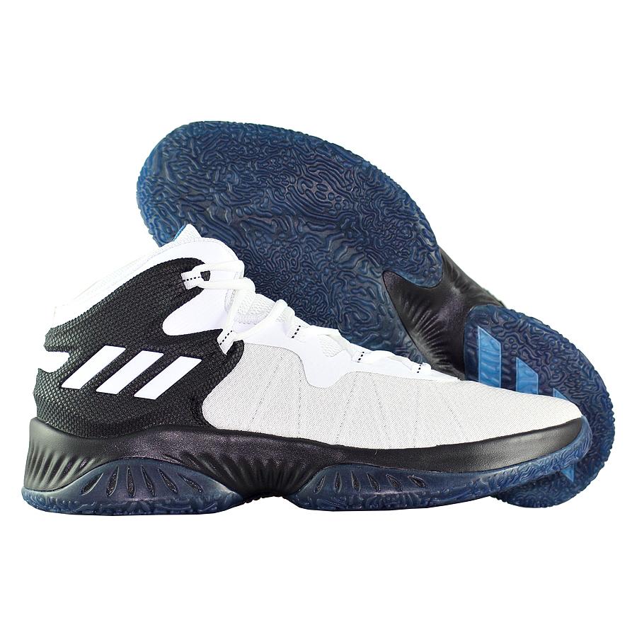 Другие товары adidasБаскетбольные кроссовки adidas Crazy Explosive Bounce<br><br>Цвет: Белый<br>Выберите размер US: 9|9.5|10.5|12|13
