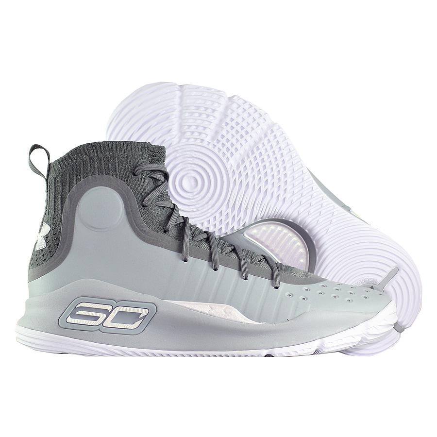 Другие товары Under ArmourБаскетбольные кроссовки Under Armour Curry 4 quot;More Bucketsquot;<br><br>Цвет: Серый<br>Выберите размер US: 10