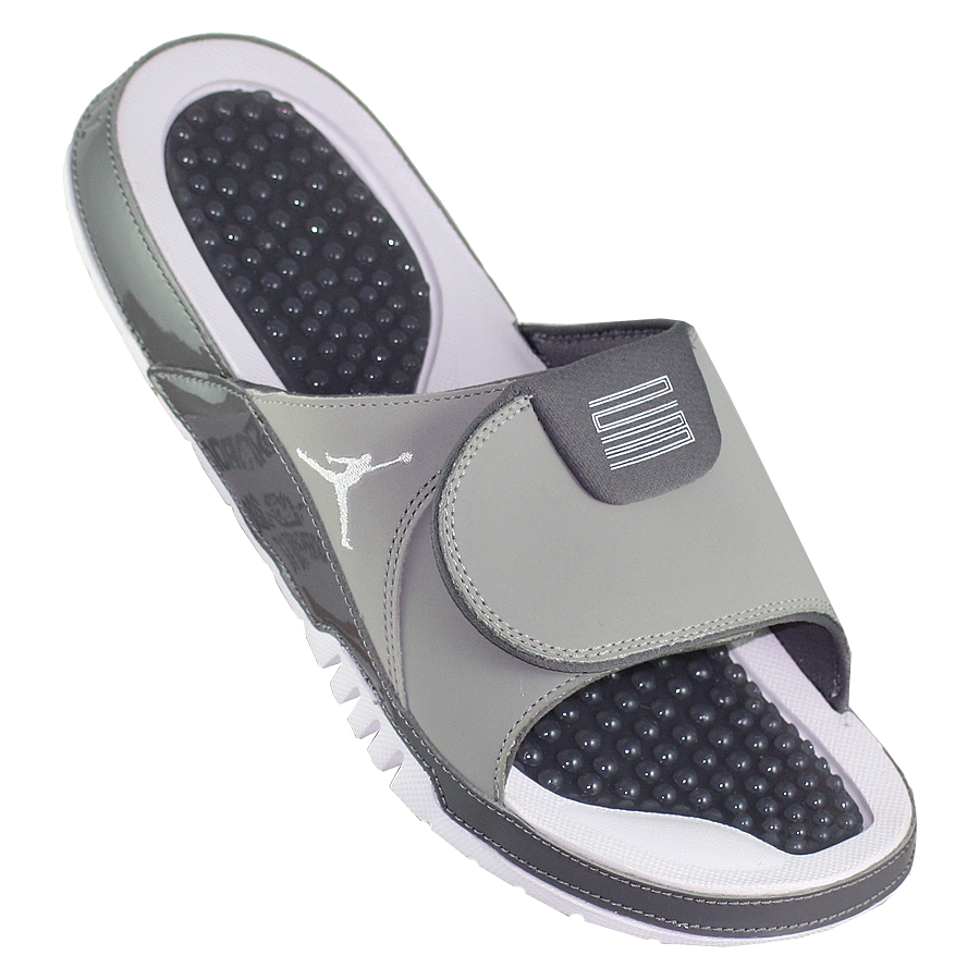 Купить Сланцы Air Jordan Hydro 11 Retro Slide Cool Grey-1