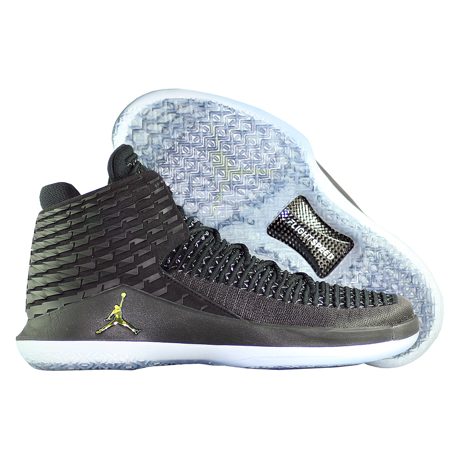 Кроссовки JordanКроссовки баскетбольные Air Jordan XXXII quot;Black Catquot;<br><br>Цвет: Чёрный<br>Выберите размер US: 11 11.5 13 14