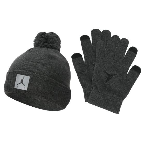 Другие товары Jordan, Детский комплект - шапка и перчатки Air Jordan Heather Set