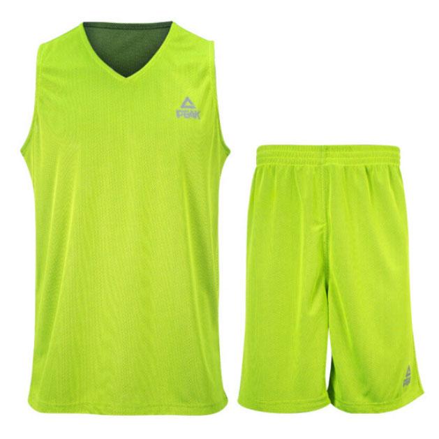 Купить Другие товары PEAK, Двухсторонняя баскетбольная форма PEAK, Зелёный