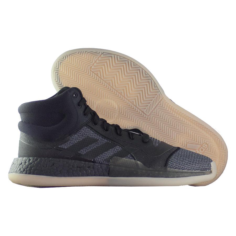 Купить Другие товары adidas, Баскетбольные кроссовки adidas Marquee Boost Gum Sole , Чёрный