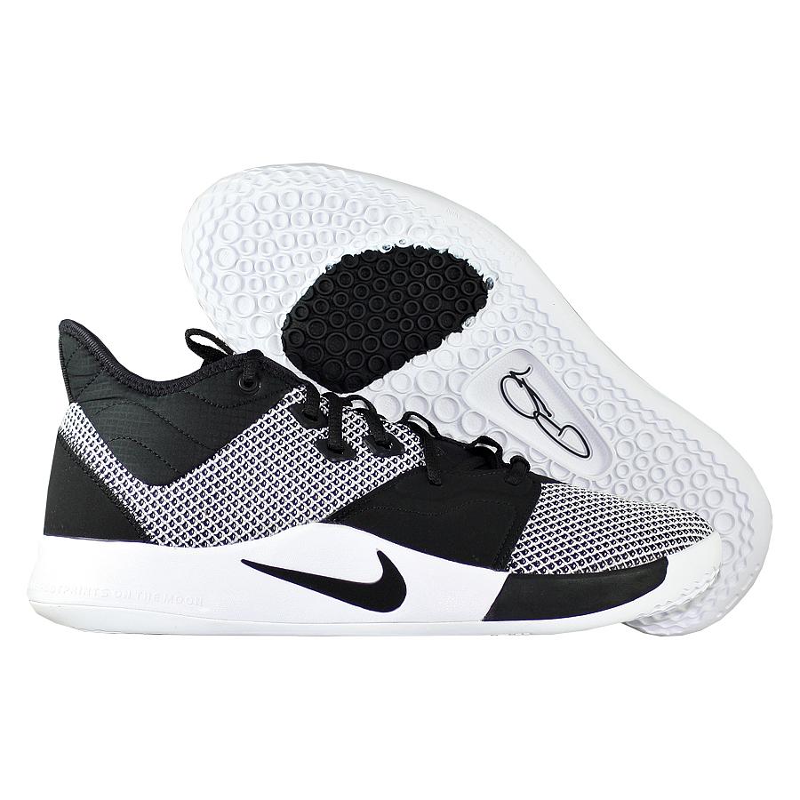 """Баскетбольные кроссовки Nike PG 3 """"Monochrome"""" фото"""