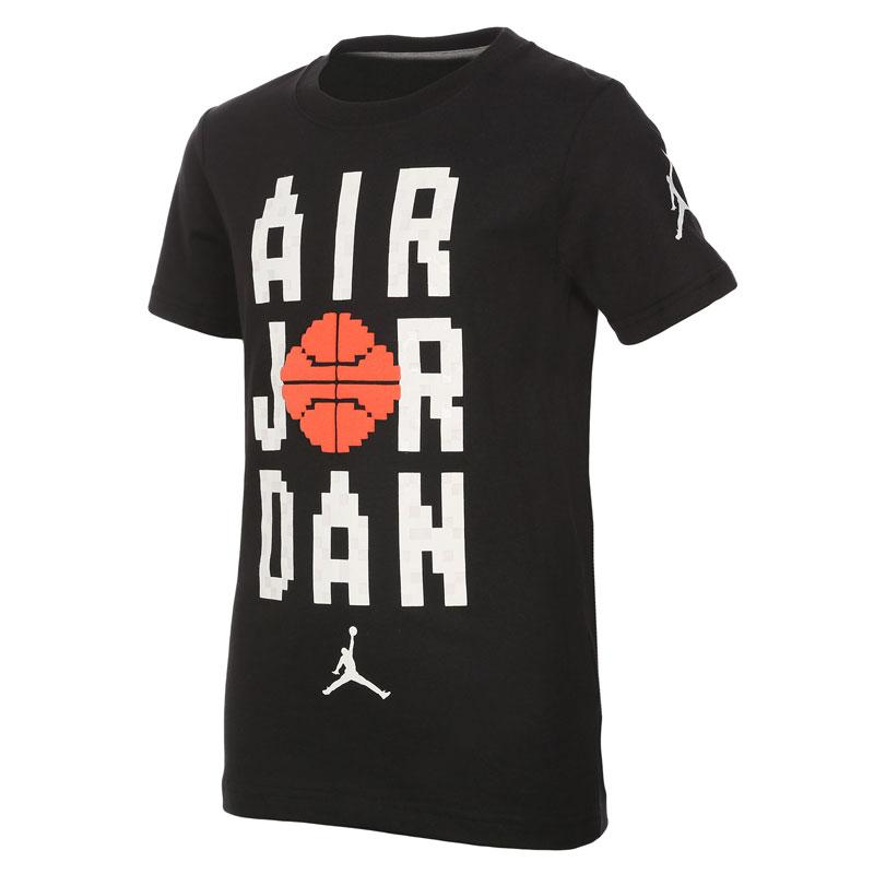 Другие товары Jordan, Футболка подростковая Air Jordan Pixel Pack Wordmark Tee