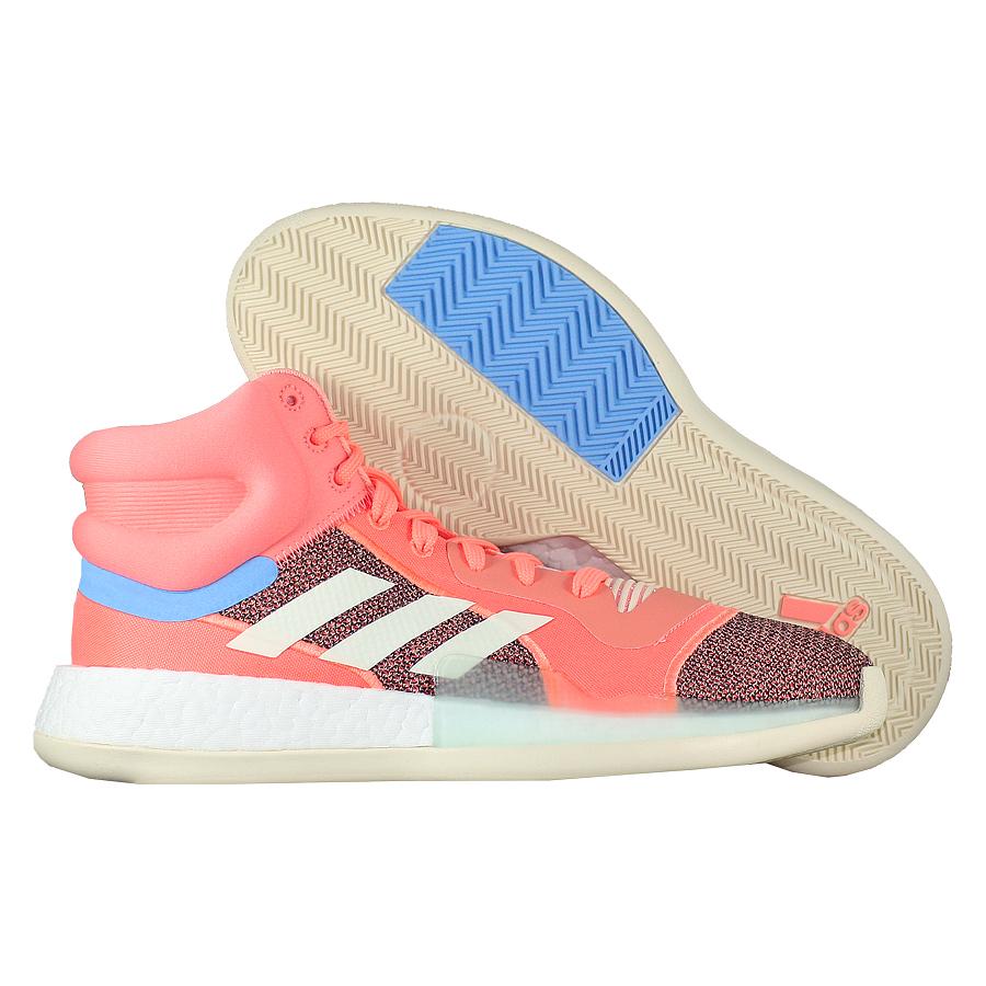 Купить Другие товары adidas, Баскетбольные кроссовки adidas Marquee Boost Sun Glow , Розовый
