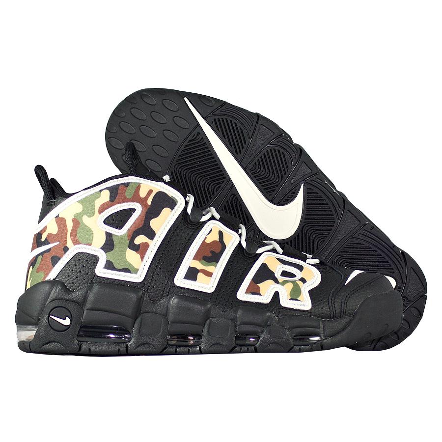 """Баскетбольные кроссовки Nike Air More Uptempo '96 QS """"Camo"""" фото"""
