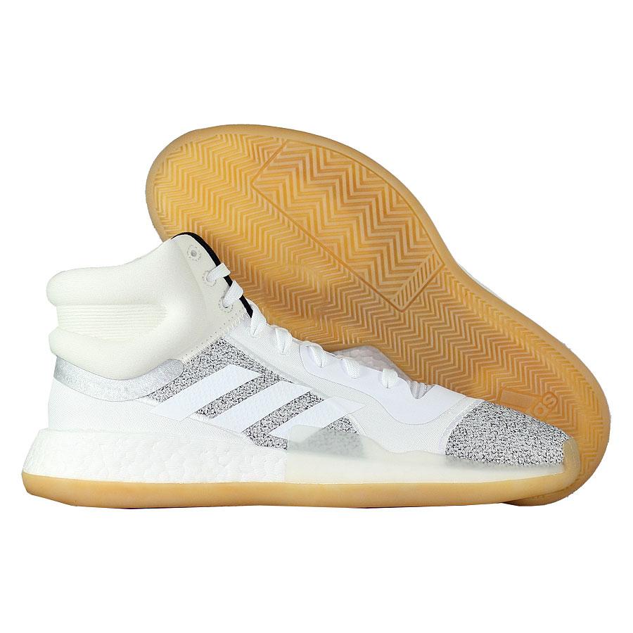 Купить Другие товары adidas, Баскетбольные кроссовки adidas Marquee Boost Raw White , Белый
