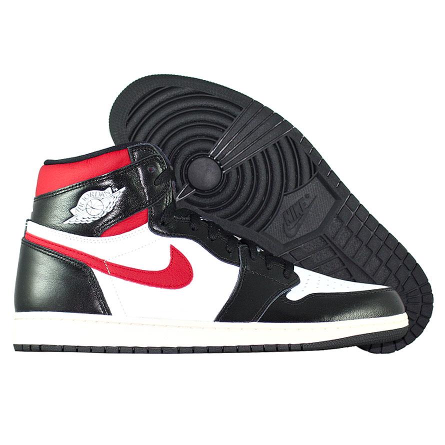 """Кроссовки Air Jordan 1 Retro High OG """"Black Gym Red"""" фото"""