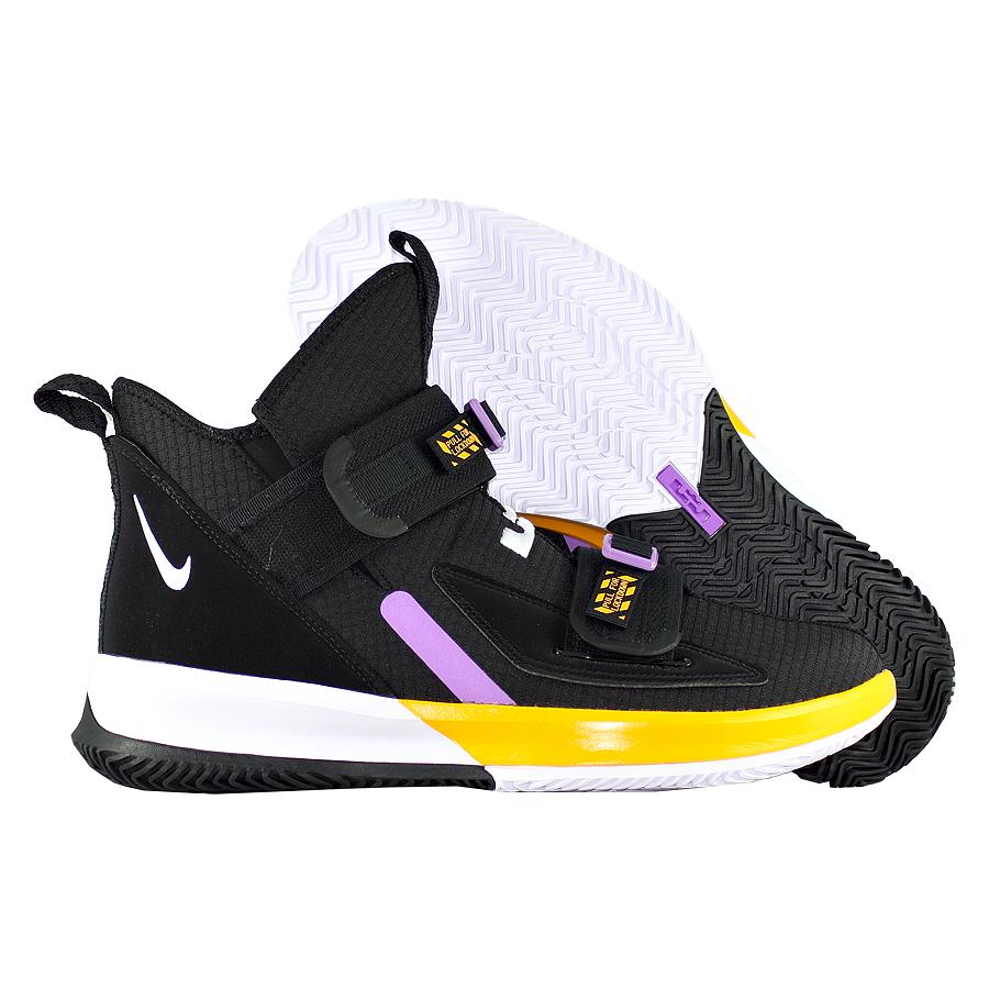"Баскетбольные кроссовки Nike LeBron Soldier 13 SFG ""Lakers"" фото"