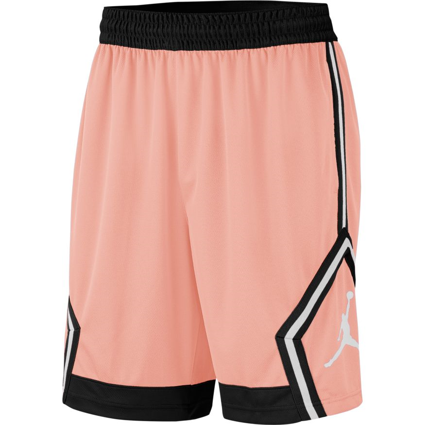 Купить Другие товары Jordan, Баскетбольные шорты Air Jordan Diamond Shorts, Розовый