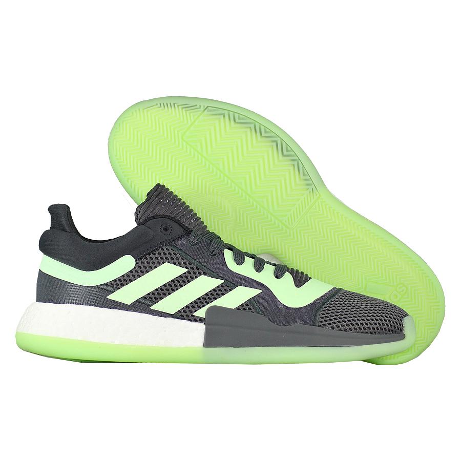 Купить Другие товары adidas, Баскетбольные кроссовки adidas Marquee Boost Low Glow Green , Серый