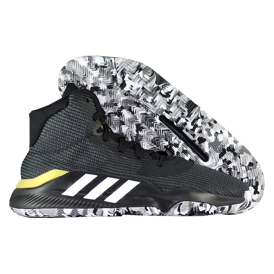 Купить Другие товары adidas, Баскетбольные кроссовки adidas Pro Bounce 2019, Чёрный