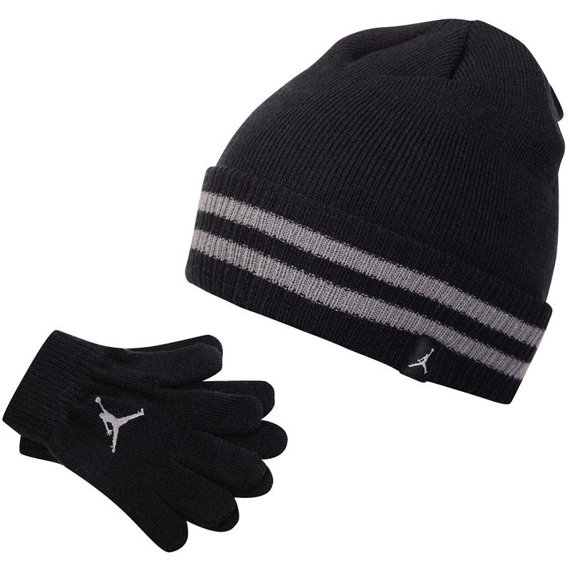 Детский комплект - шапка и перчатки Air Jordan Jab Cuffed Beanie and Glove Set фото