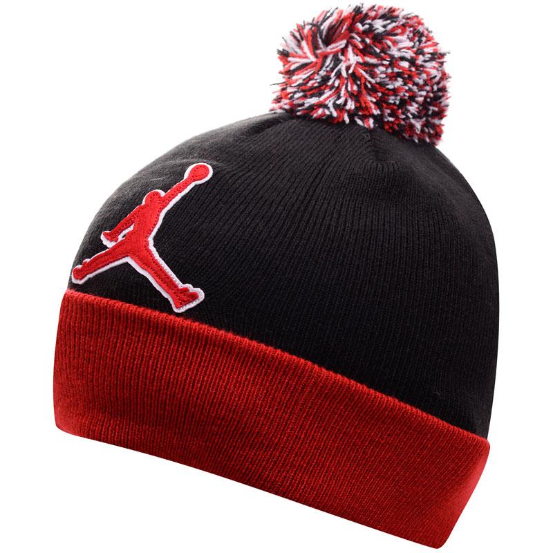 Подростковая шапка Air Jordan Graphic Beanie фото
