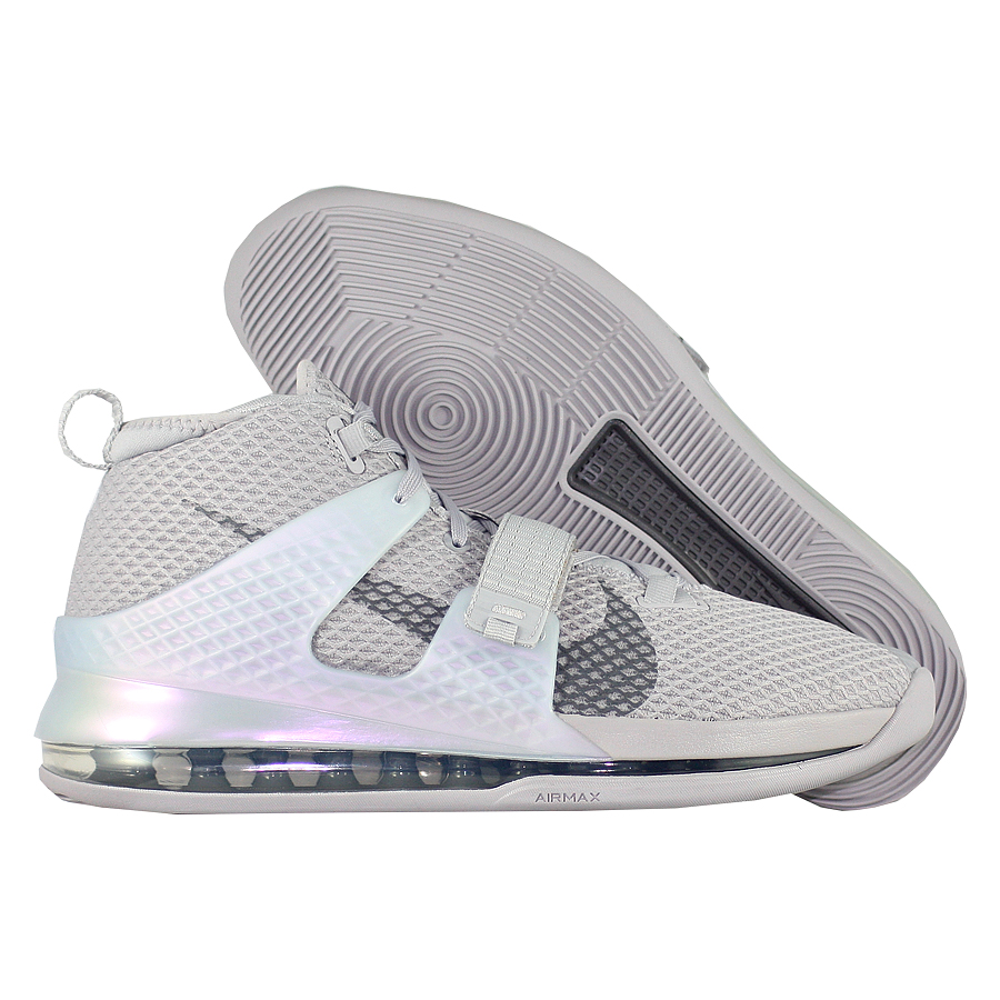"Баскетбольные кроссовки Nike Air Force Max 2 ""Atmosphere Grey"" фото"