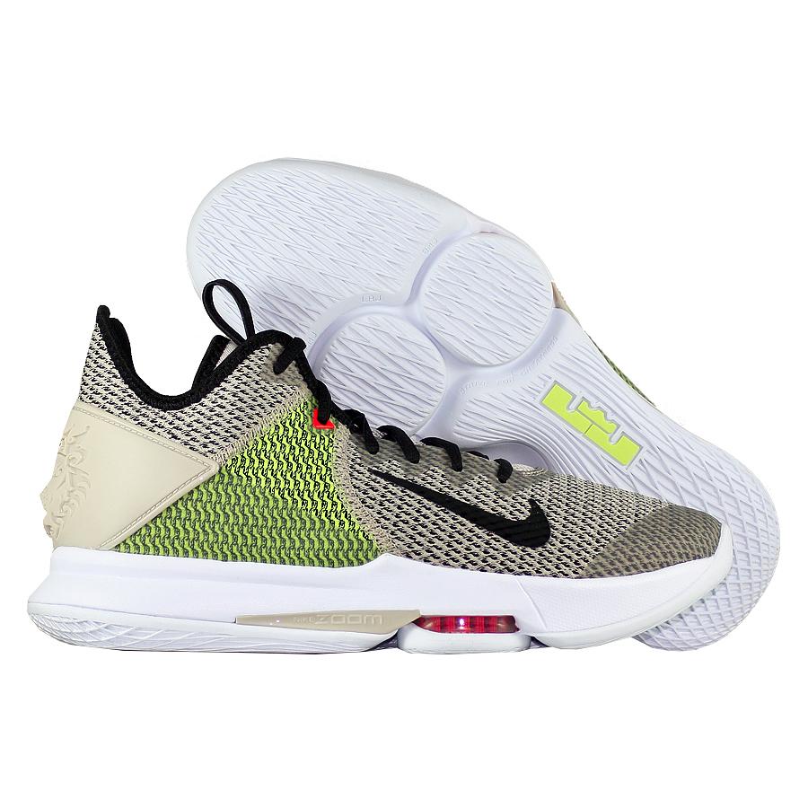"""Баскетбольные кроссовки Nike LeBron Witness 4 """"String Volt"""" фото"""