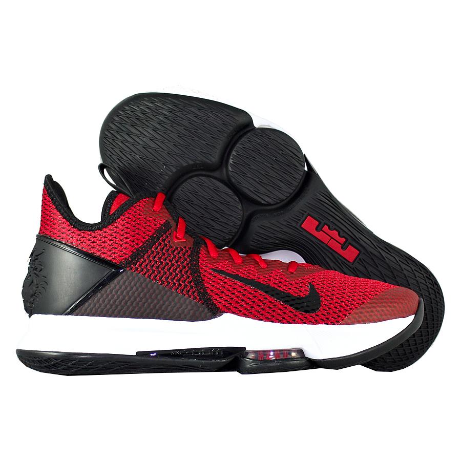 "Баскетбольные кроссовки Nike LeBron Witness 4 ""Gym Red"" фото"