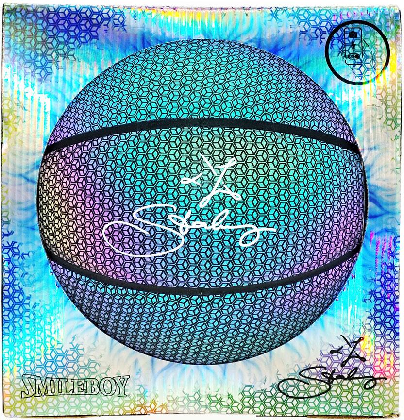 Баскетбольный мяч Starbury SmileBoy Basketball размер 7 фото