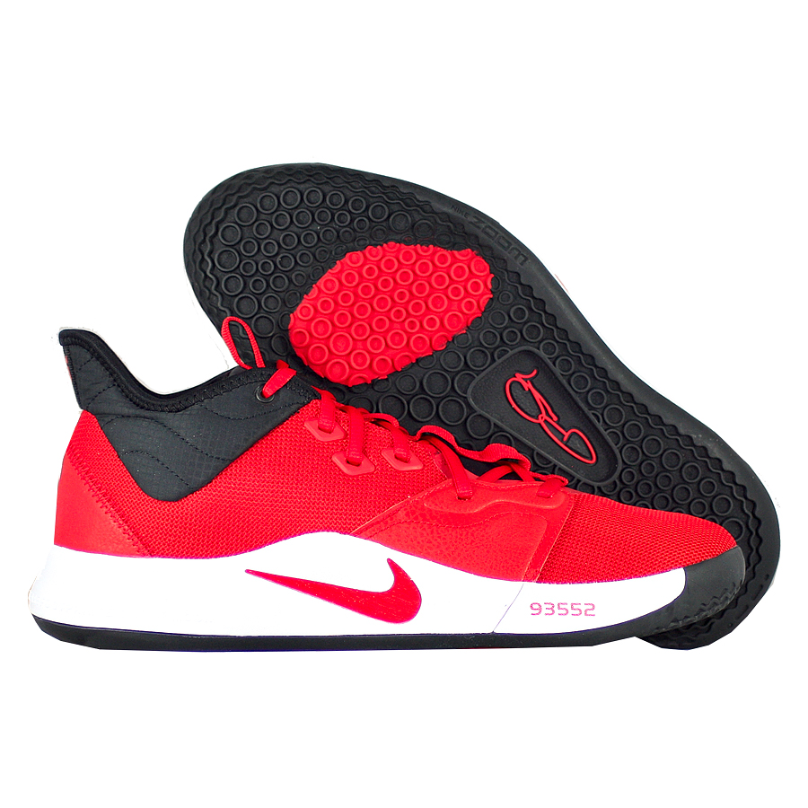 """Баскетбольные кроссовки Nike PG 3 """"University Red"""" фото"""