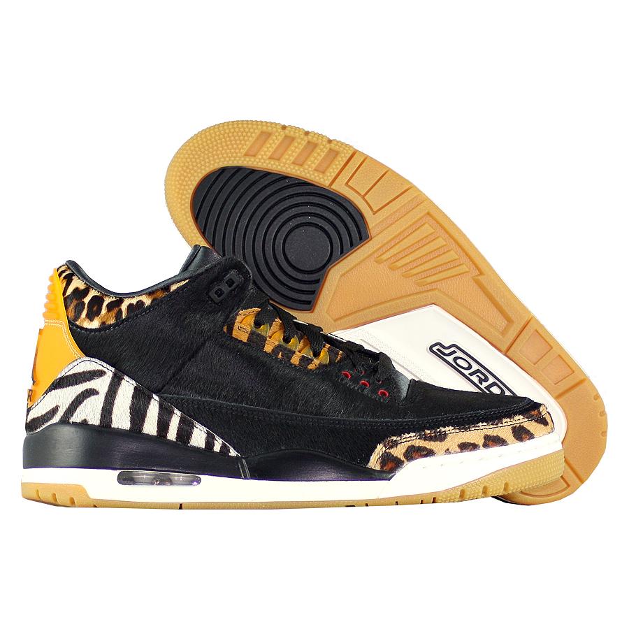 """Баскетбольные кроссовки Air Jordan 3 Retro SE """"Animal Instinct"""" фото"""