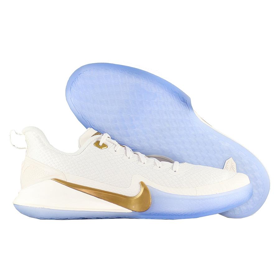 Купить Другие товары Nike, Баскетбольные кроссовки Nike Mamba Focus Metallic Gold , Белый