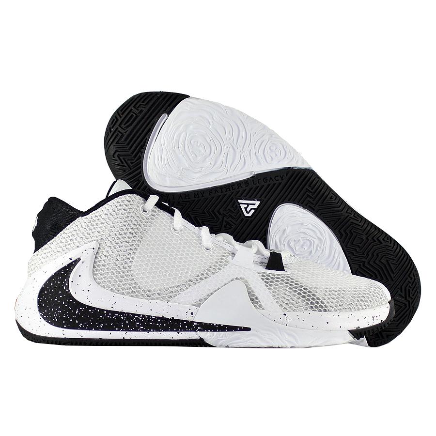 """Детские баскетбольные кроссовки Nike Zoom Freak 1 GS """"Oreo"""" фото"""