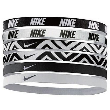 Повязки на голову Nike Printed Headbands Assorted - 6 шт фото