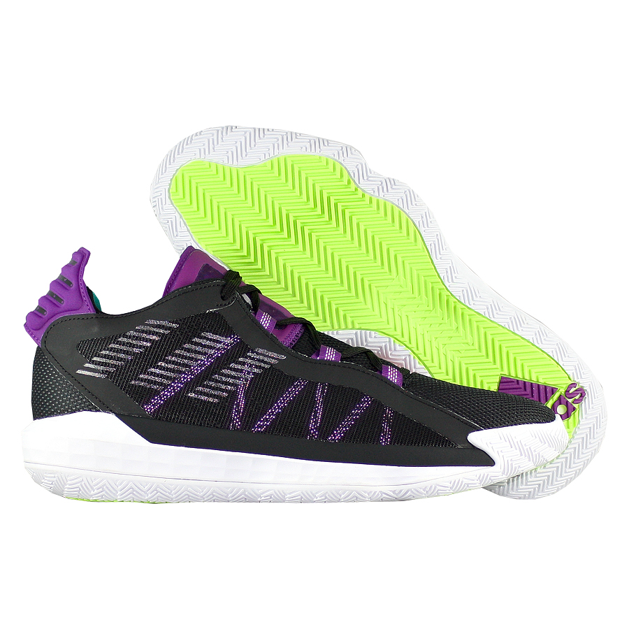 """Баскетбольные кроссовки adidas Dame 6 """"Oakland Duality"""" фото"""