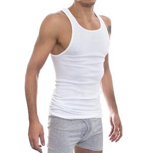 Другие товары HanesМайка Hanes A-Shirt (3 шт)<br><br>Цвет: Белый<br>Выберите размер US: S