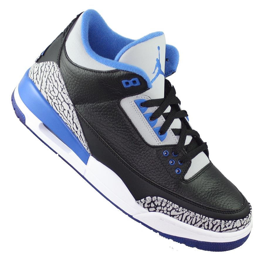 ... Купить Кроссовки баскетбольные Air Jordan III (3) Retro Sport Blue-2 ... 99c05e9fb80