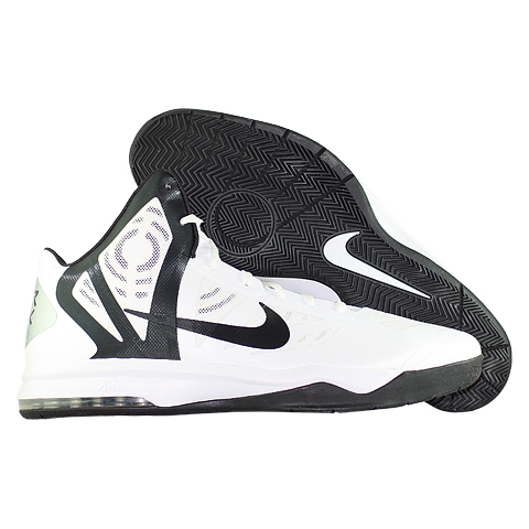 Кроссовки NikeКроссовки баскетбольные Nike Air Max Hyperaggressor TB<br><br>Цвет: Белый<br>Выберите размер US: 21