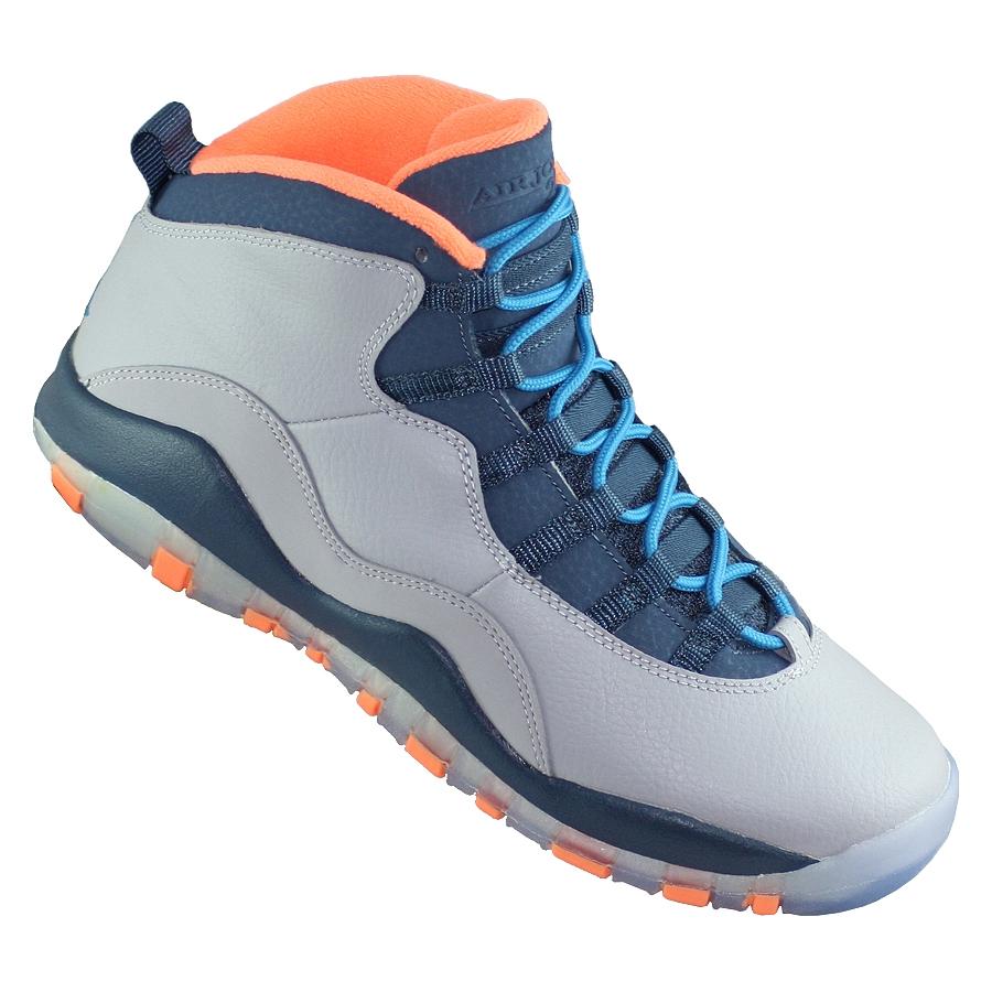 ... Купить Кроссовки баскетбольные детские Jordan X (10) Retro GS Bobcats-2  ... dd3358084e2