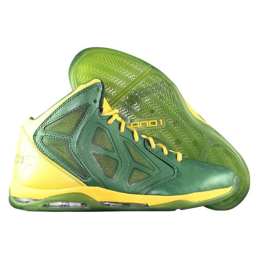 3c3da512 Кроссовки баскетбольные AND1 Prime Mid зеленые за 0 руб.