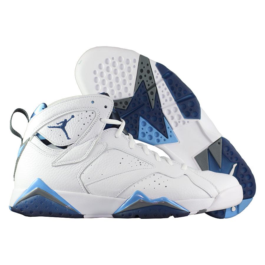 4cad0e0a ... Купить Кроссовки баскетбольные Air Jordan 7 (VII) Retro French Blue-1  ...
