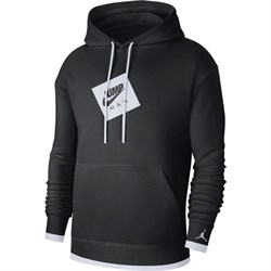 Купить Пуловер Air Jordan Jumpman Printed Fleece Pullover Hoodie-1