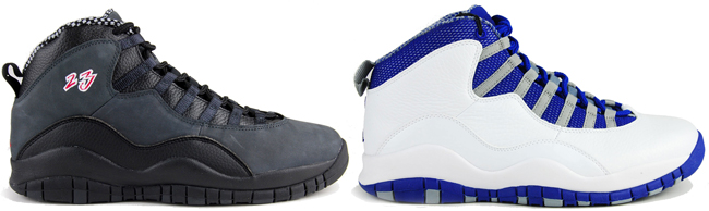 Первые кроссовки Jordan 10 были полностью выполнены из кожи. После стали  выпускать расцветки с вариациями материалов, что всё равно не делало их  менее ... 329da2e81bc